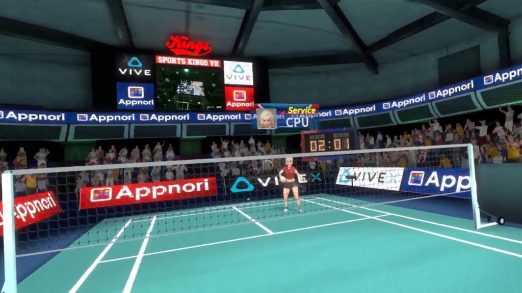 badminton virtual